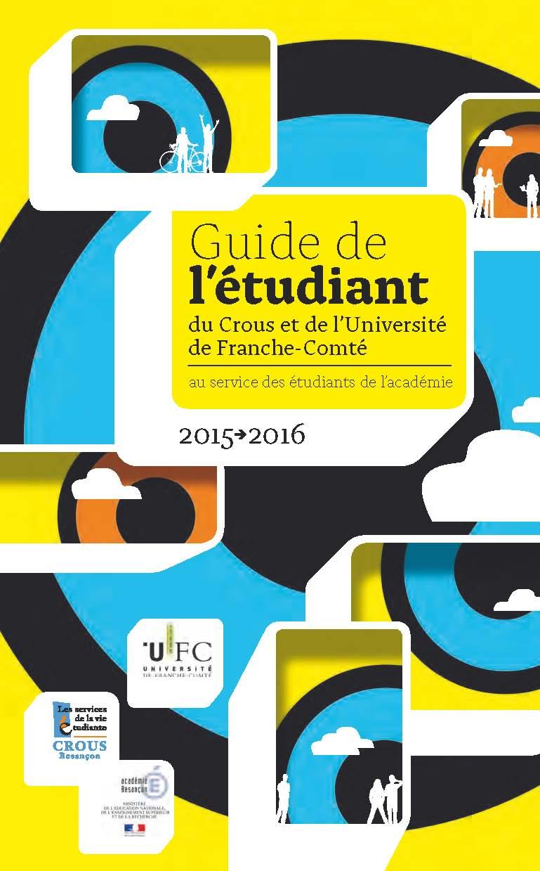Le guide l'étudiant 2015-2016 est en ligne!